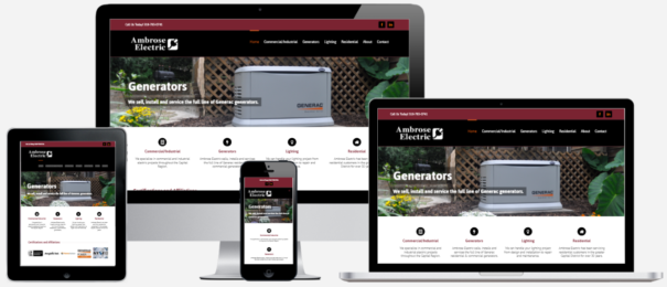 Electrical Contractor Website Design Albany, NY Capital District Digital