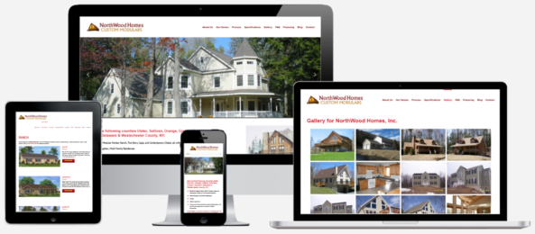 Modular Home Construction Website Design Albany, NY Capital District Digital