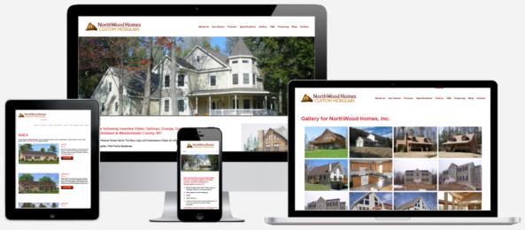 Modular Home Construction Website Design Albany, NY Capital District Digital