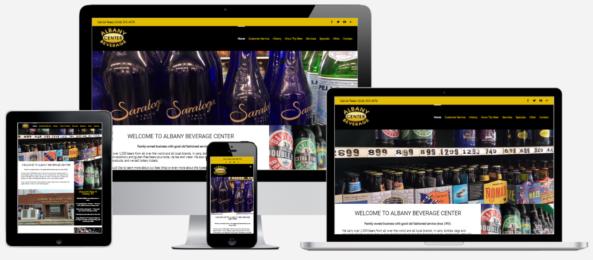 Albany Beverage Website Design Albany, NY Capital District Digital