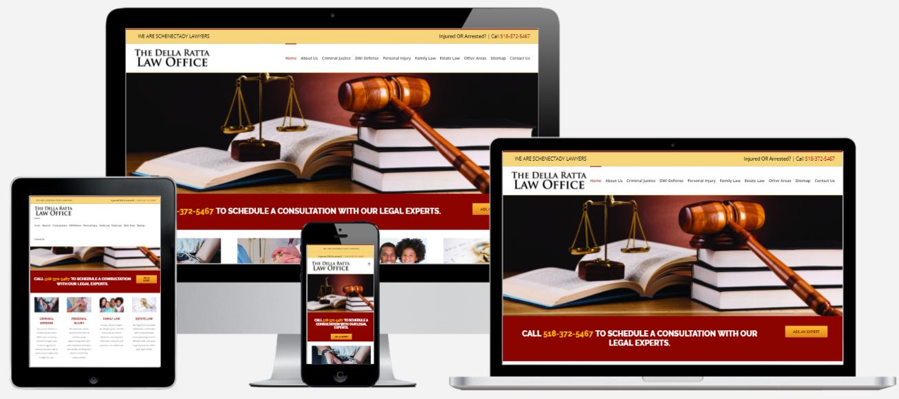 Attorney Website Design Albany, NY Capital District Digital