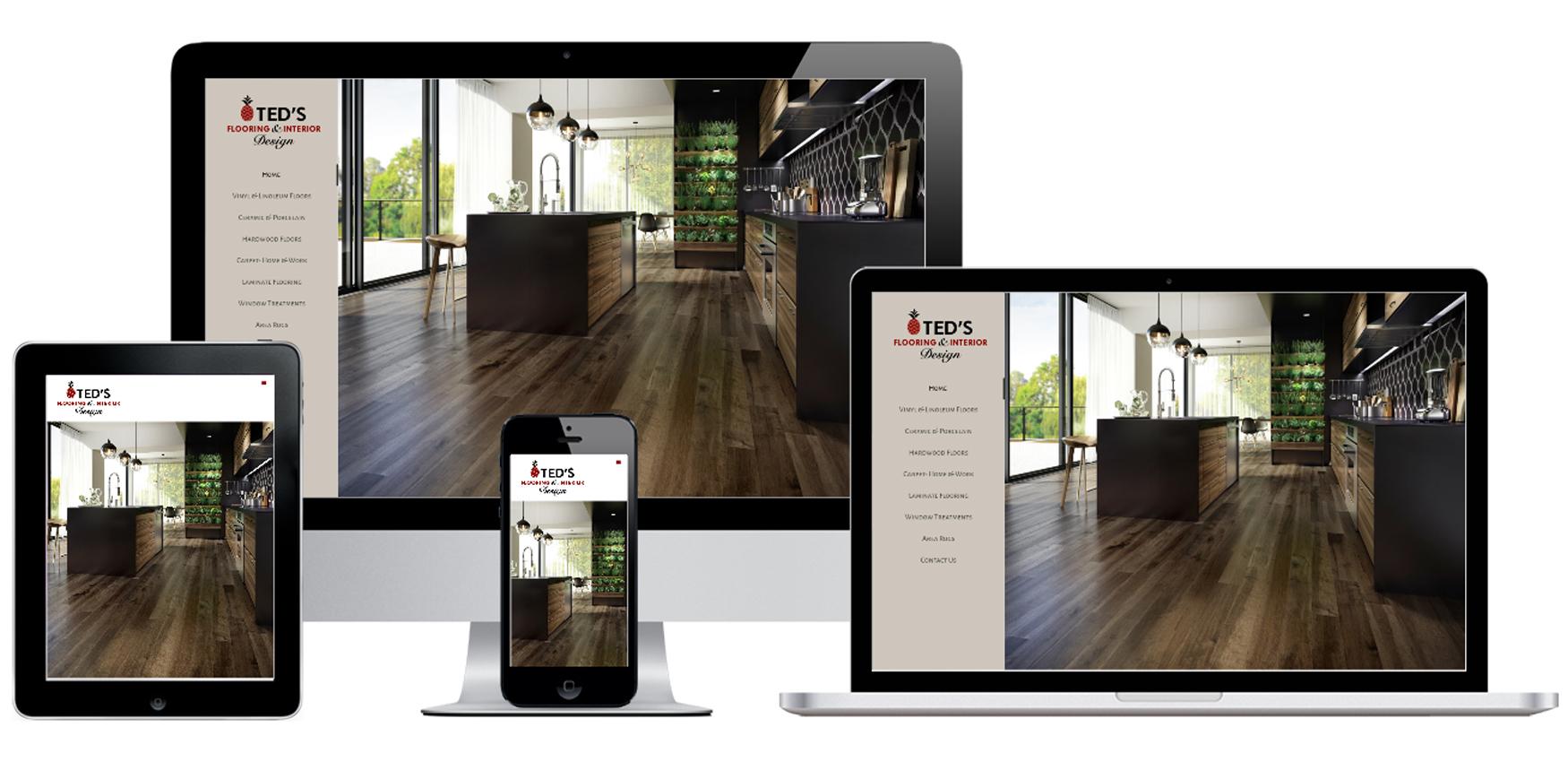 Ted S Flooring Amp Interior Design Website Design Capital