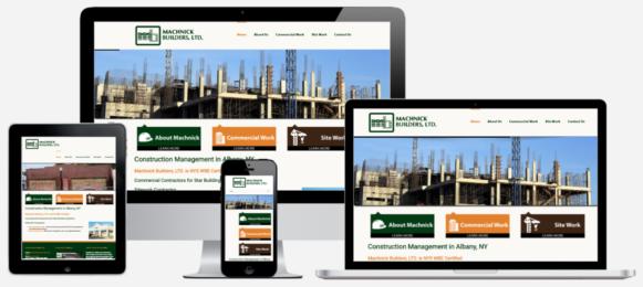 Construction Website Design Albany, NY Capital District Digital