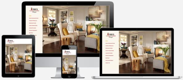 Flooring Company Website Design Albany, NY Capital District Digital