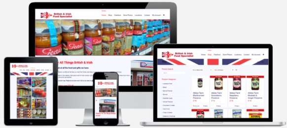 Food & Beveage Website Design Albany, NY Capital District Digital