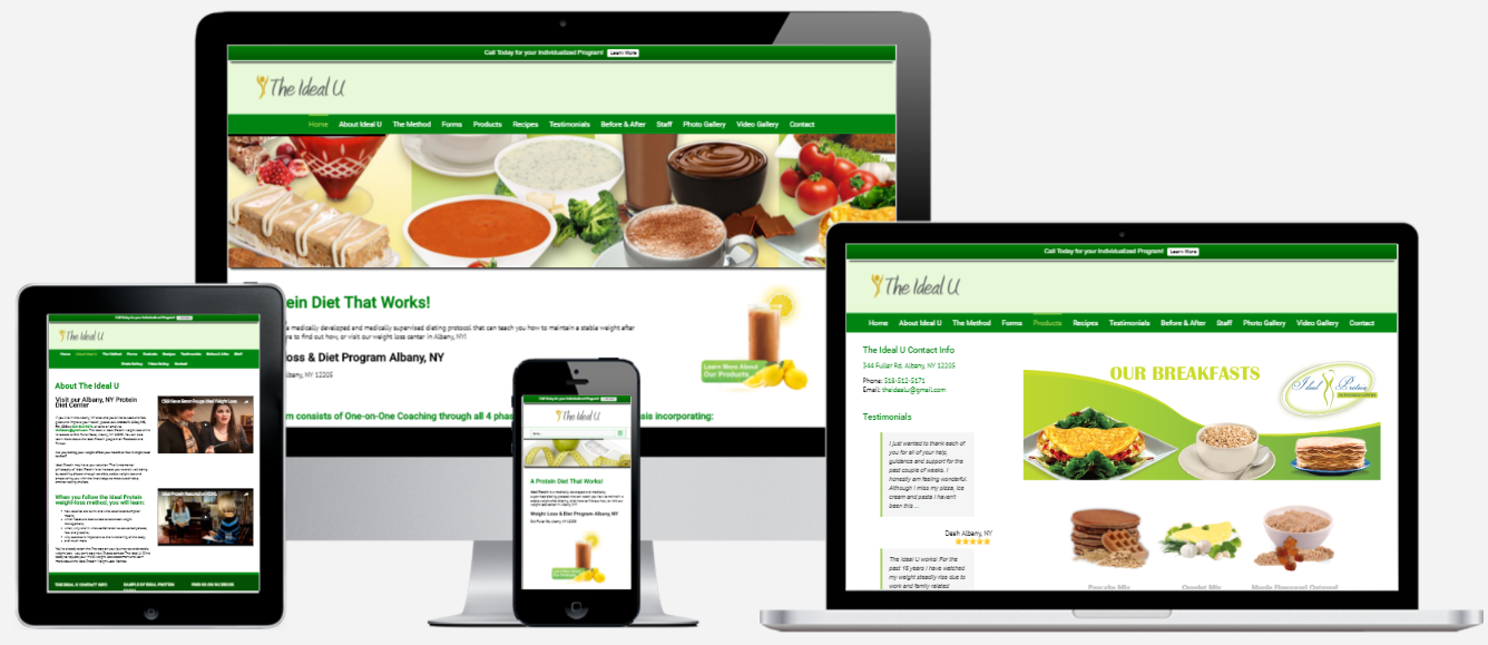 Weight Loss Website Design Albany, NY Capital District Digital