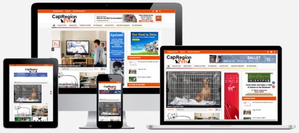 Cap Region Pets Website Design Albany, NY Capital District Digital
