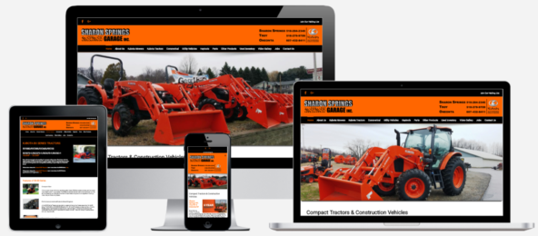 Sharon Springs Garage Website Design Capital District Digital Albany, NY