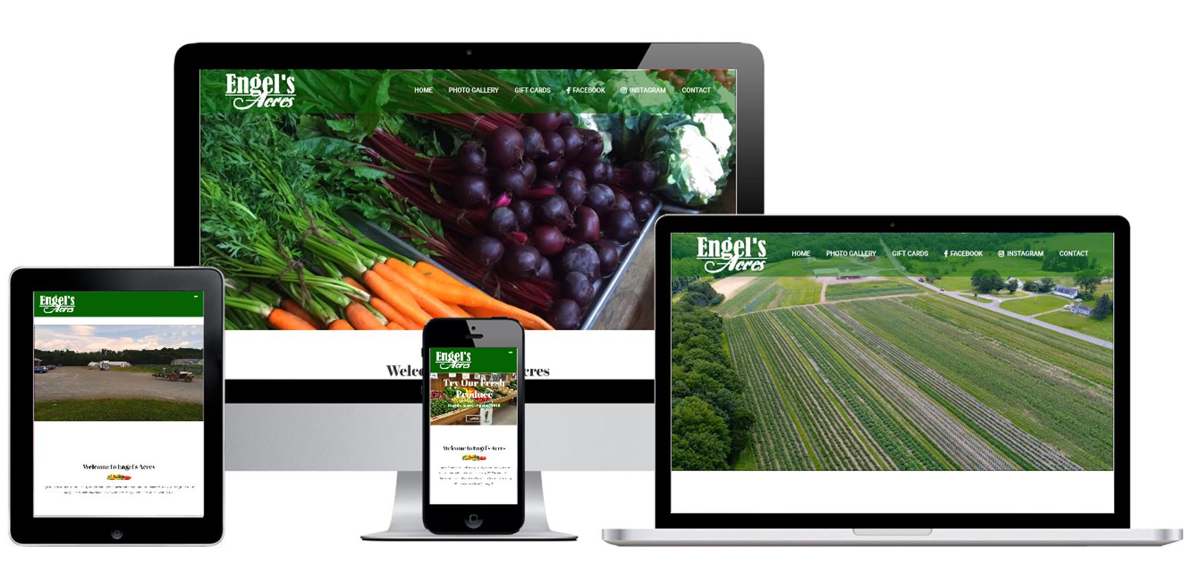 Farm Website Design Albany, NY