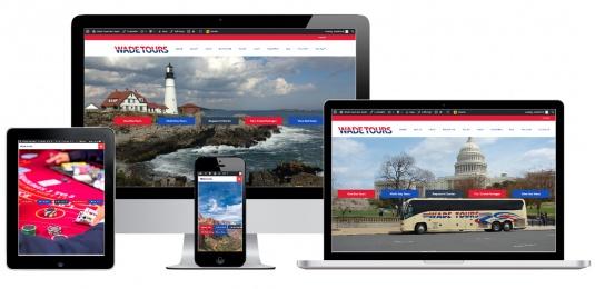 Tour Bus Company Website Design Albany, NY
