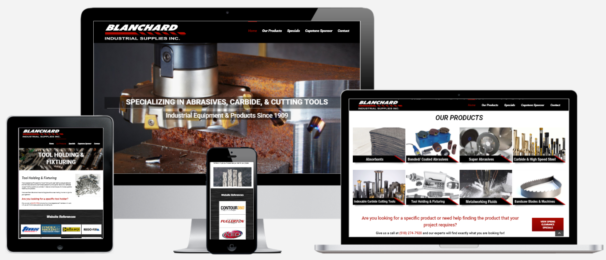 Industrial Supply Website Design Albany, NY Capital District Digital