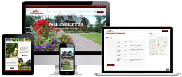 Liberty Ridge Farm E-commerce WordPress Website Design Albany, NY - Capital District Digital