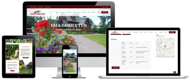 Liberty Ridge Farm E-commerce WordPress Website Design Albany, NY - Capital District Digital