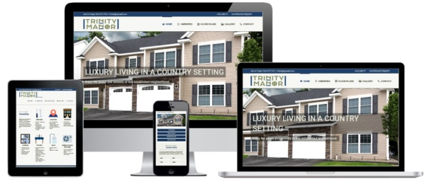 Trinity Manor WordPress Website Development - Rosetti Development - Capital District Digital Albany, NY