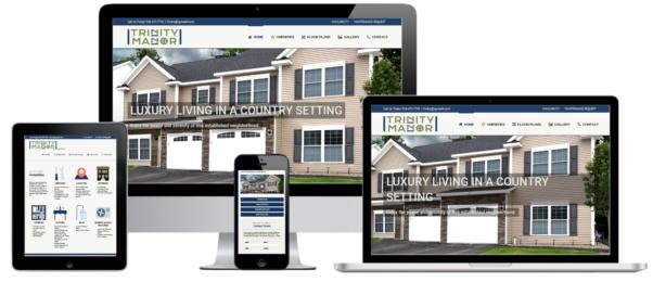 Trinity Manor WordPress Website Development - Rosetti Development - Capital District Digital Albany, NY