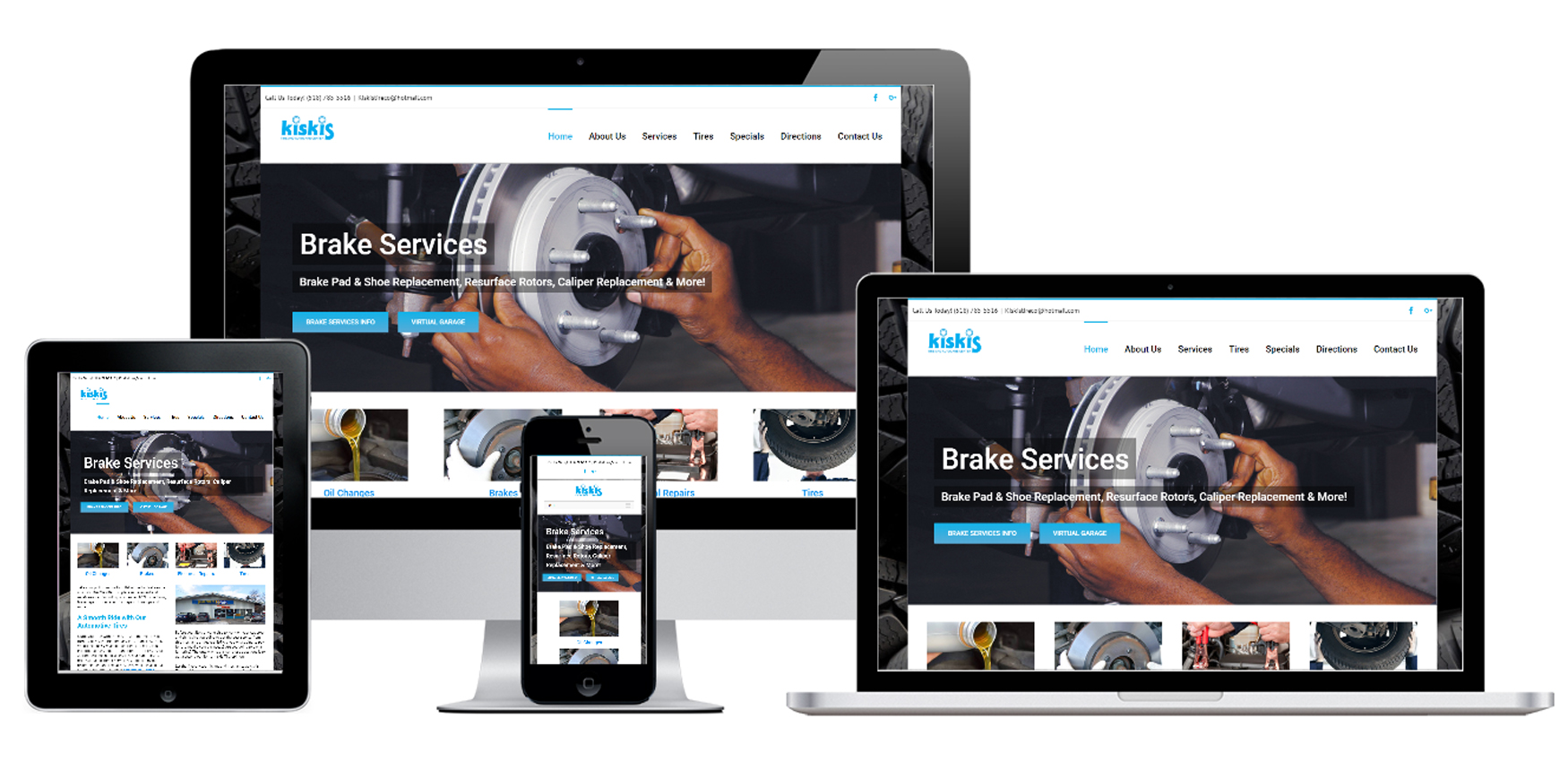 Auto Repair Shop Website Design Albany, NY