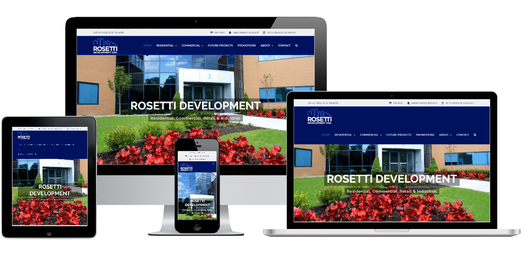 Real Estate Website Design Albany, NY