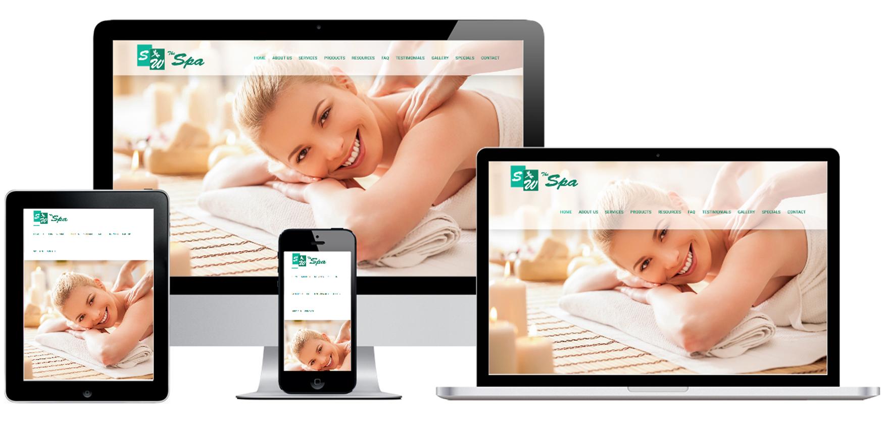 Spa Website Design Albany, NY