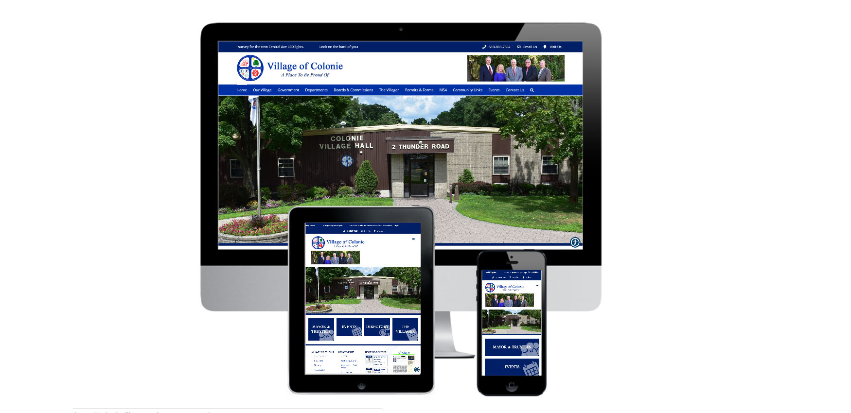 Capital District Digital- Website Design Albany NY- Village of Colonie