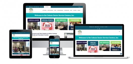 Senior Service Center Website Design Albany, NY