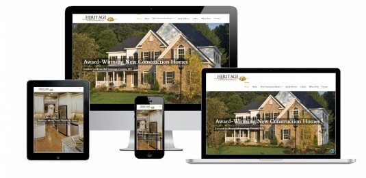 Custom Home Builders Website Design Albany, NY