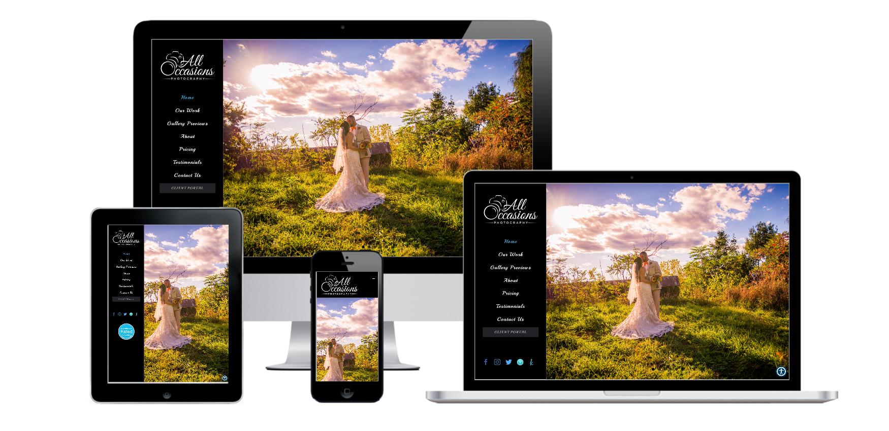 photographer website design albany ny