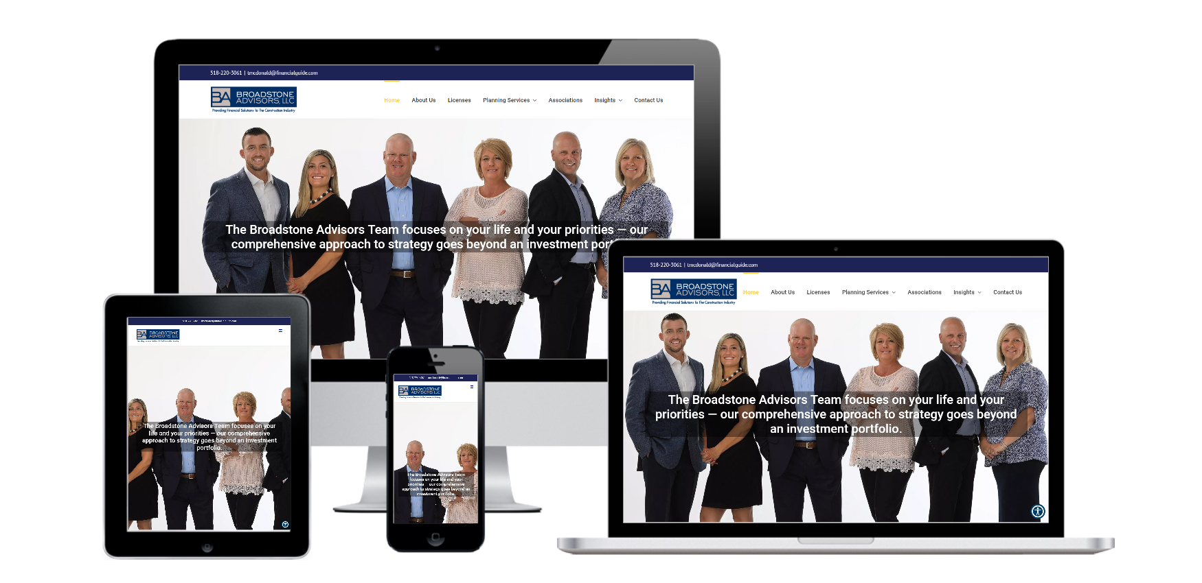 Website Design for Financial Advisors Albany, NY