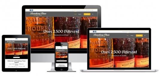 Liquor Store Website Design Albany, NY