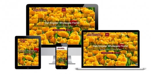 Capital District Digital- Website Design Albany NY- Dan Engwer Wholesale Florist