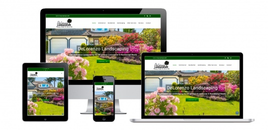 Landscaping Website Design Albany, NY