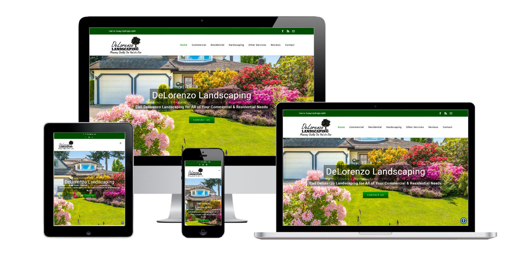 Landscaping Website Design Albany, NY