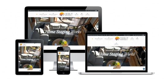 Property Staging Website Design Albany, NY