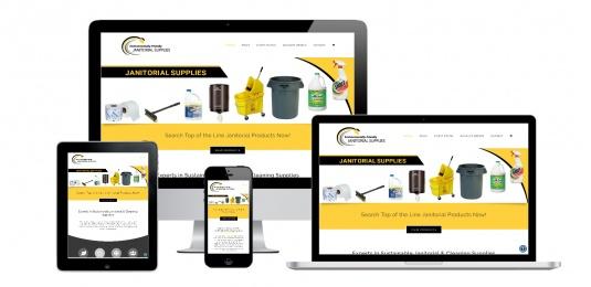 Capital District Digital- Website Design Albany NY- Environmentally Friendly Janitorial