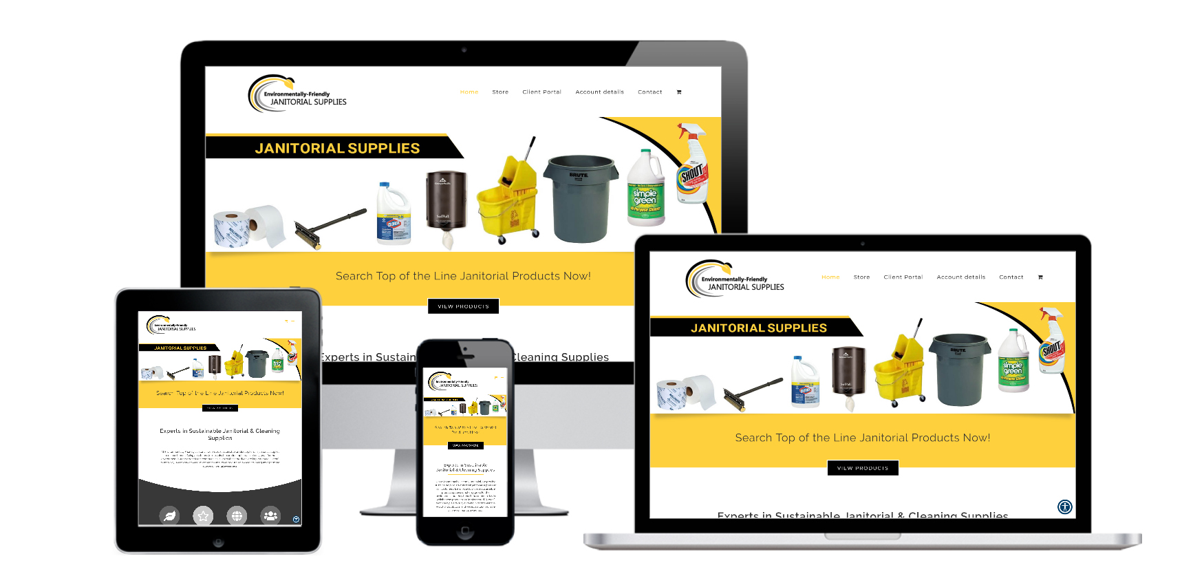 Capital District Digital- Website Design Albany NY- Environmentally Friendly Janitorial