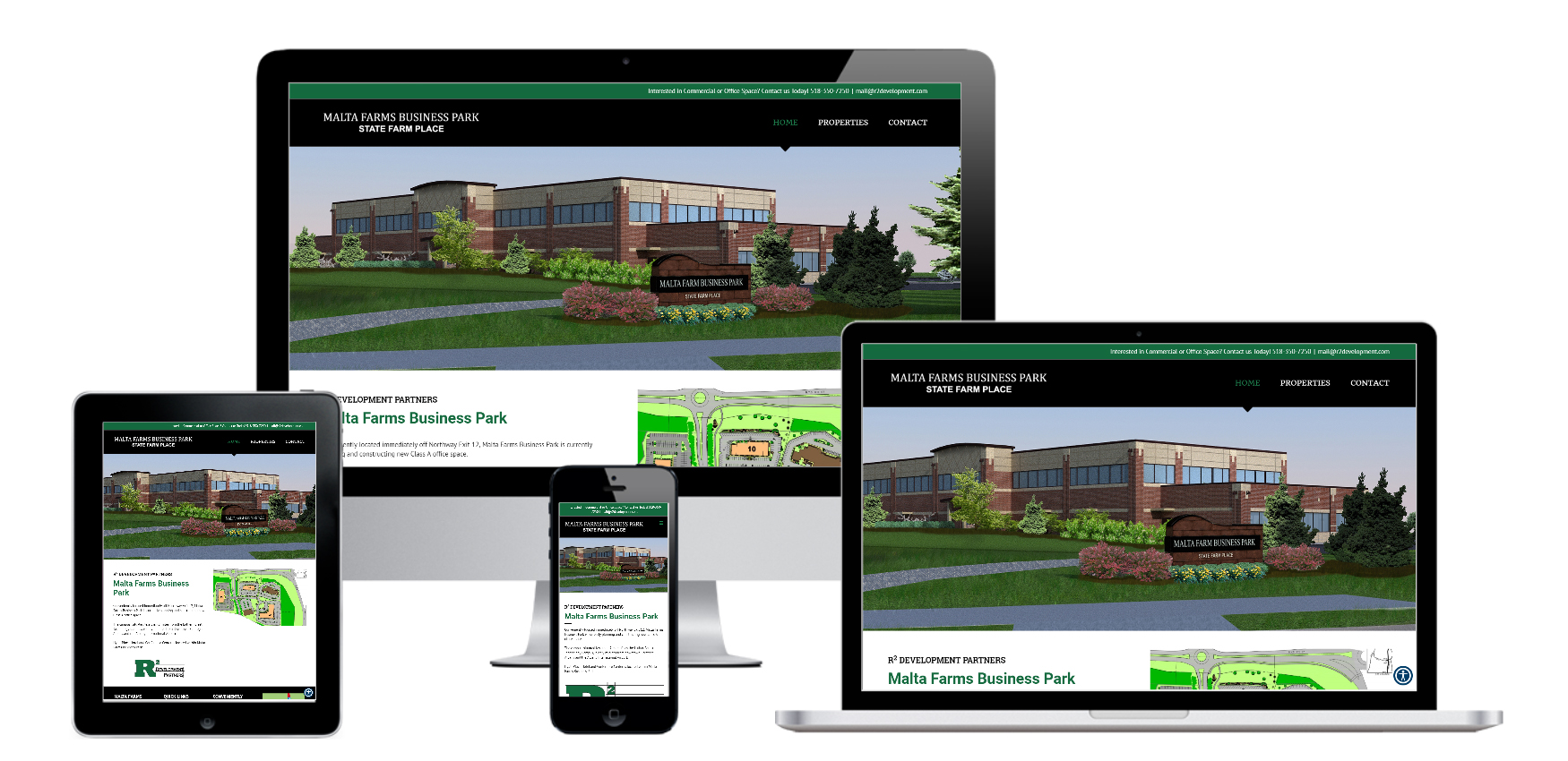 Website Design for Construction Company Albany, NY