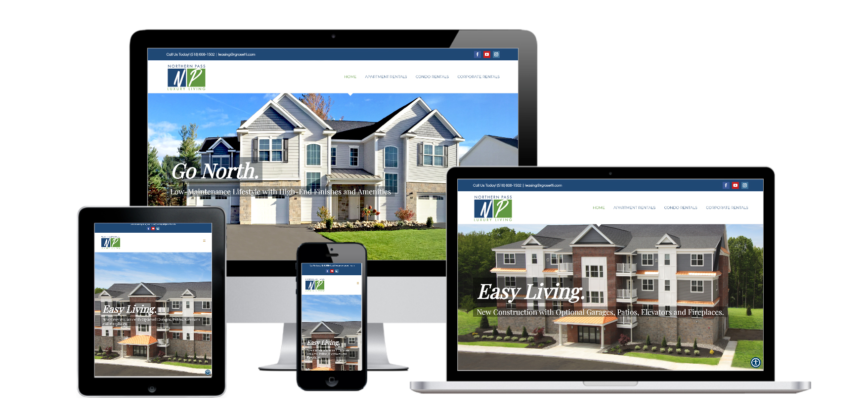 Apartment Website Design Albany, NY