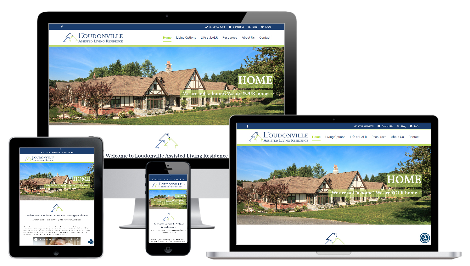 ssisted Living Website Design Albany, NY