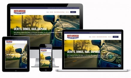 Paintless Dent Repair Website Design Albany, NY