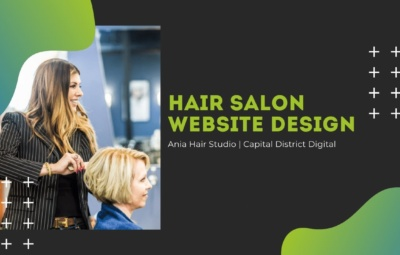 Hair Salon Website Design Albany, NY